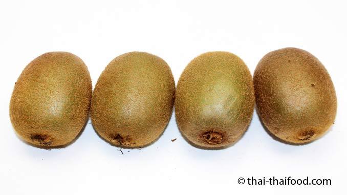 asiatische Kiwifrüchte
