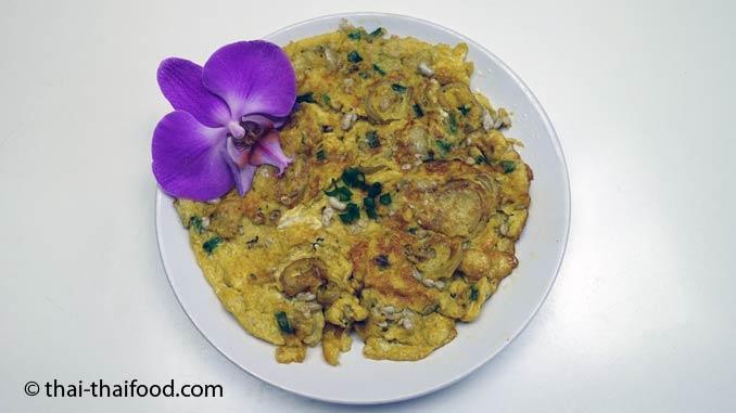 Thailändisches Ameiseneier Omelett
