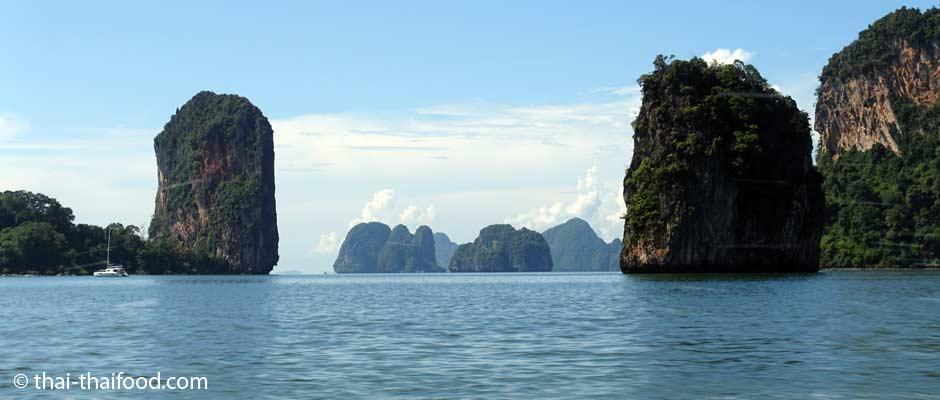 Nationalpark Thailand Ao Phang Nga