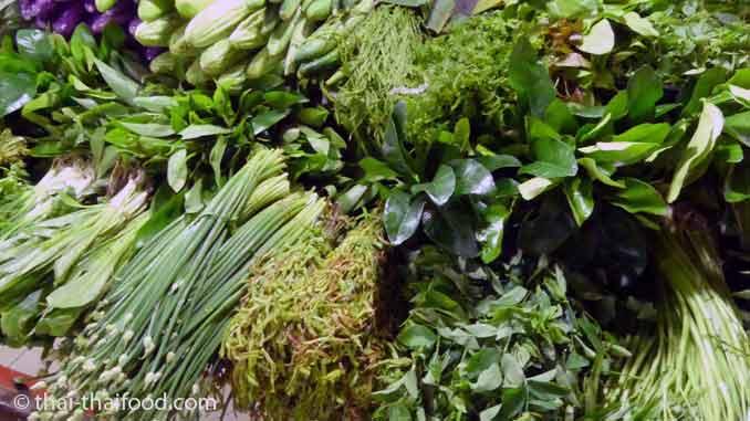 Thai Gemüse Markt