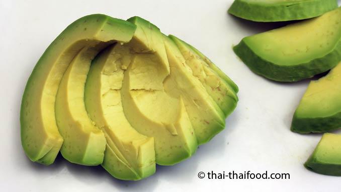 Avocado Fruchtfleisch