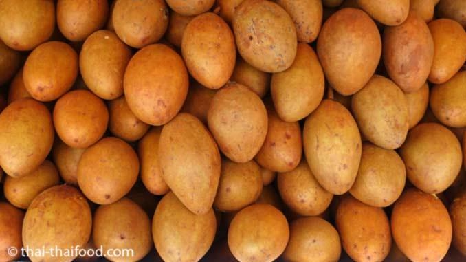 Sapodilla Frucht