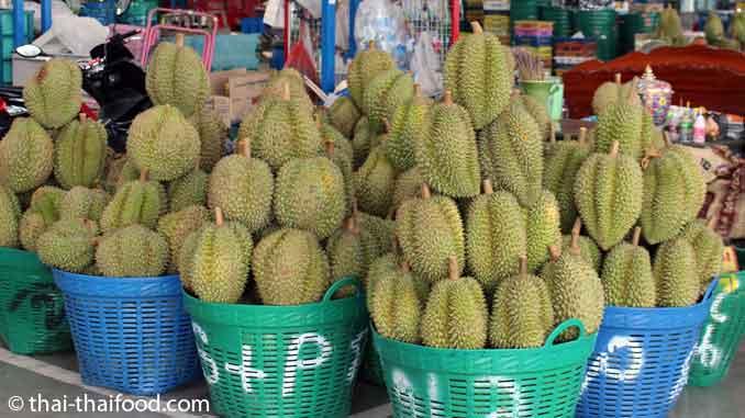 Asiatische Früchte Durian