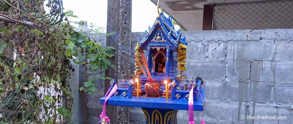 Geisterhäuschen in Thailand