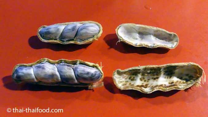 Gekochte Erdnüsse