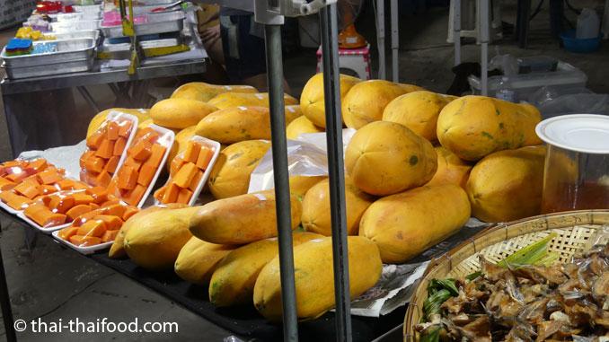 Gelbe Papaya