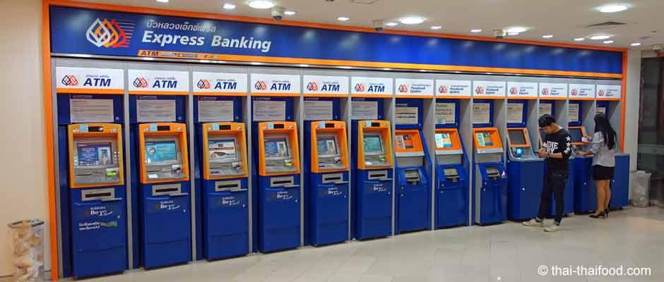 Geld abheben in Thailand mit Kreditkarte