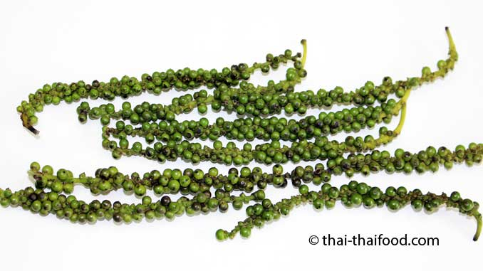 Grüne Pfefferrispen
