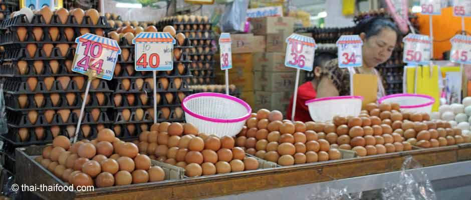 Hühnerei Thailand