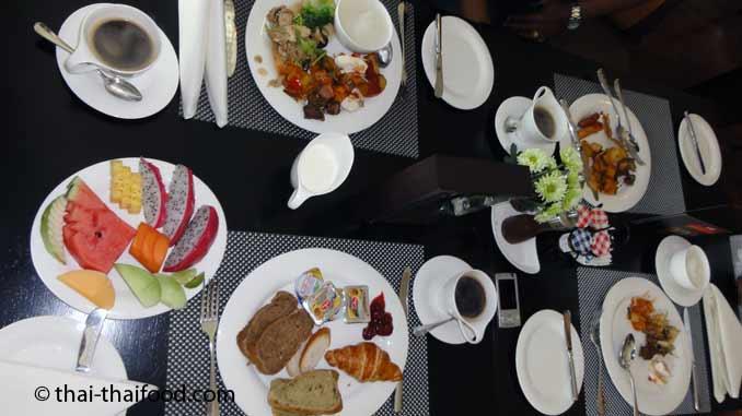 Hotel Frühstück in Thailand
