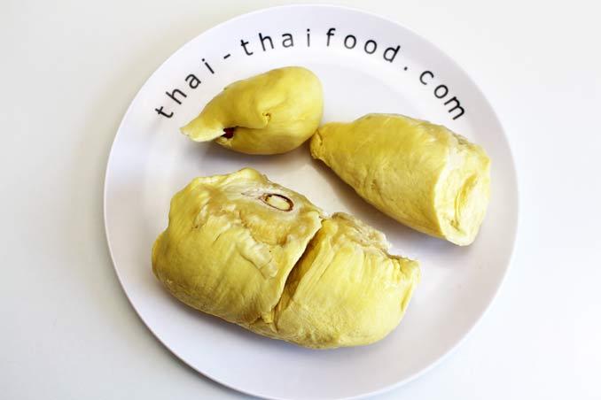 Durian Stinkfrucht innen