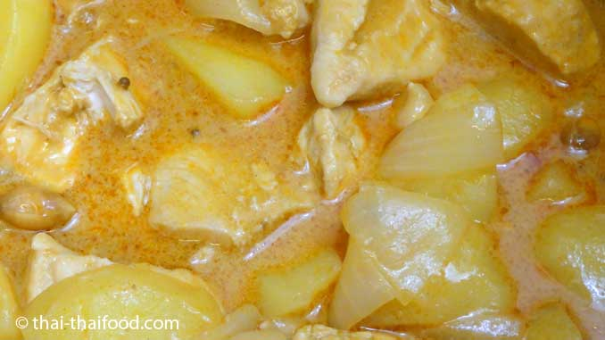 Massaman Curry Rezept