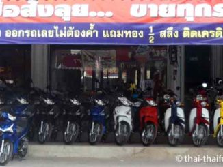 Motorroller mieten in Thailand