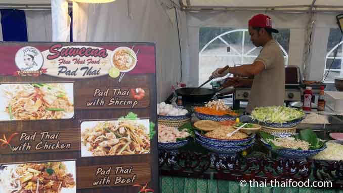 Pad Thai auf dem Thai Festival in Böblingen