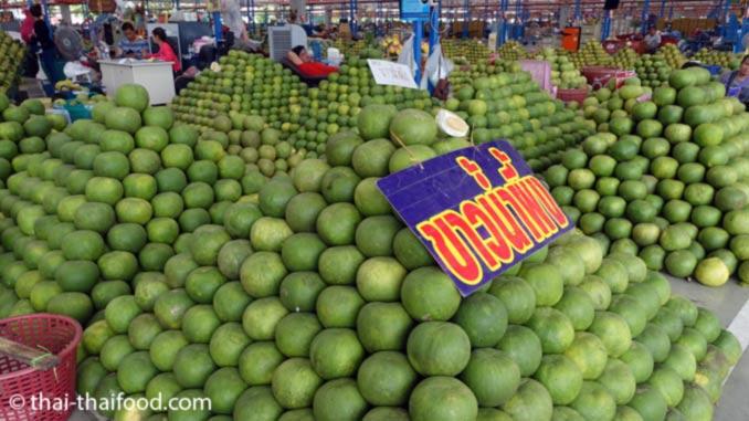 Pomelo Frucht