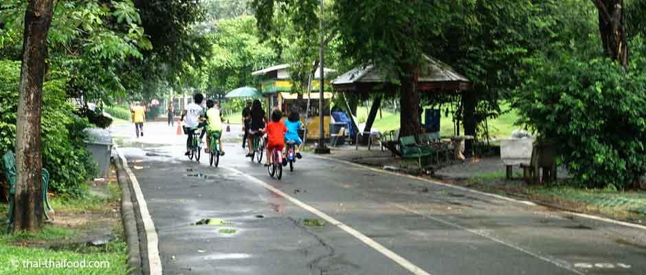 Suan Rot Fai Park Bangkok bzw Wachira Benchathat Park