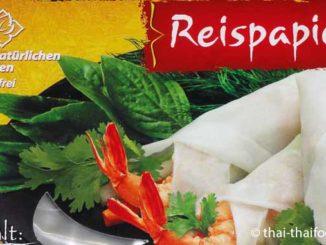Reispapier - Reisblätter