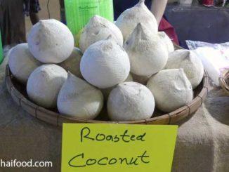 geröstete Kokosnuss