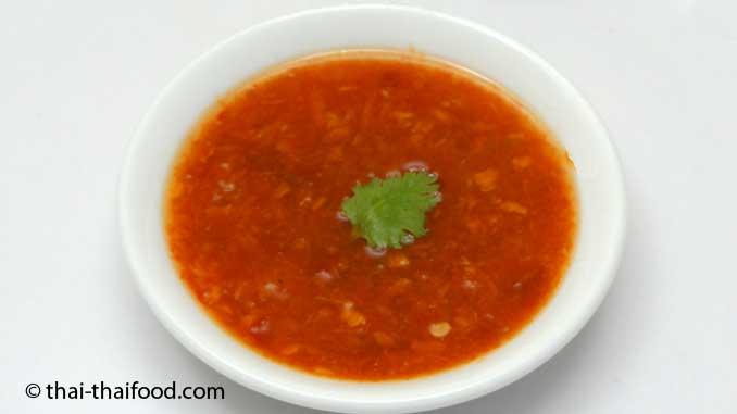 Scharfe Salatsauce
