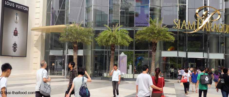 Die TOP 10 Shopping Center Bangkok