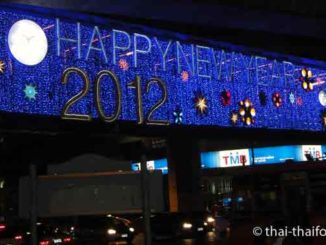 Silvester in Thailand
