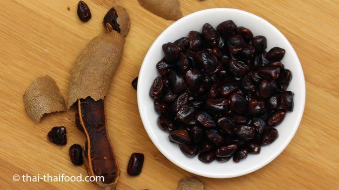 Den Samen der Tamarinde kann man essen