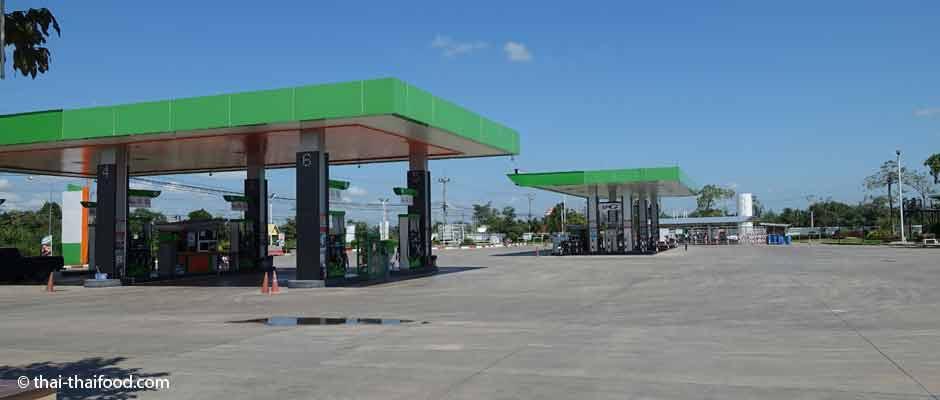 Thailändische Tankstellen