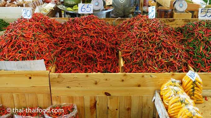 Thai Chili Verkauf