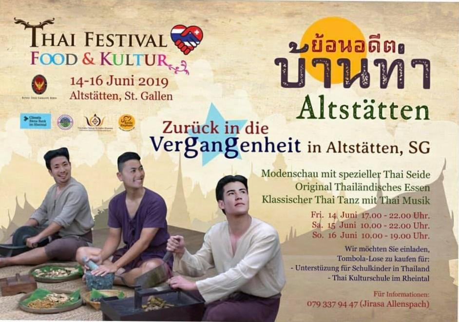 Thai Festival Altstätten