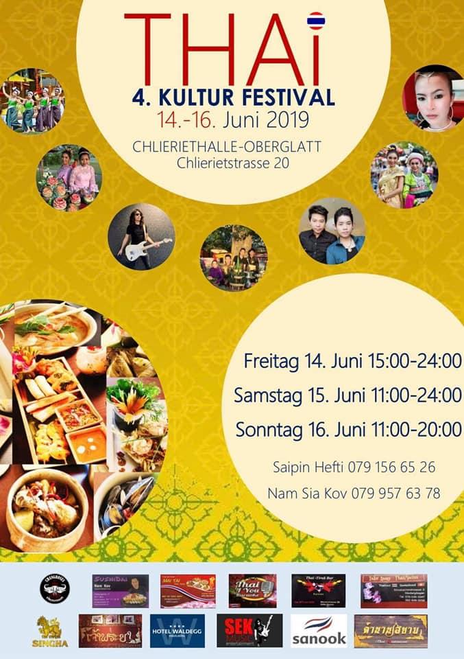 Thai Festival Oberglatt 2019