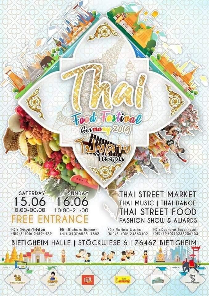 Thai Food Festival Bietigheim 2019