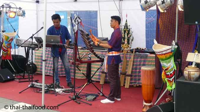 Thai Musik auf dem Thai Festival in Böglingen