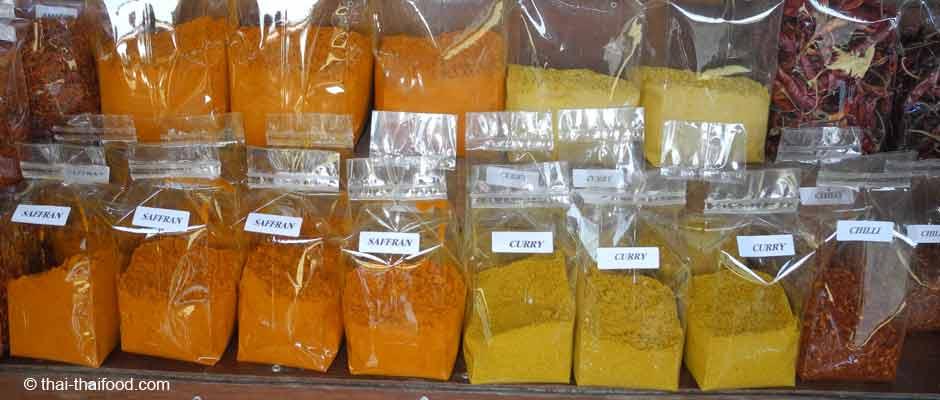 Thai Gewürze