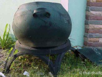 Thailändische Mülltonne
