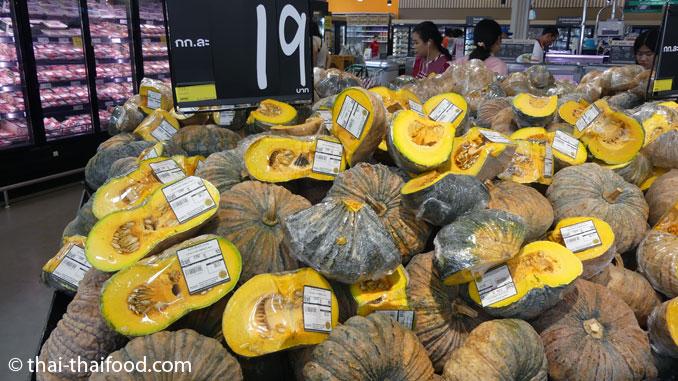 Kürbis kaufen in Thailand