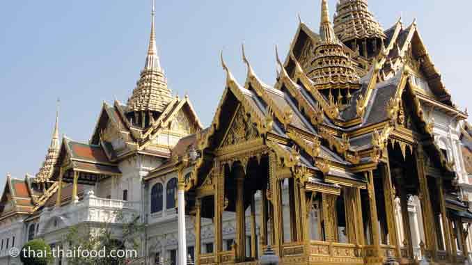 Wat Phra Kaeo   วัดพระแก้ว - Tempel des Smaragd Buddha