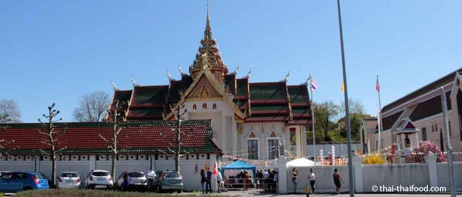 Wat Srinagarin, der Thai Tempel in der Schweiz